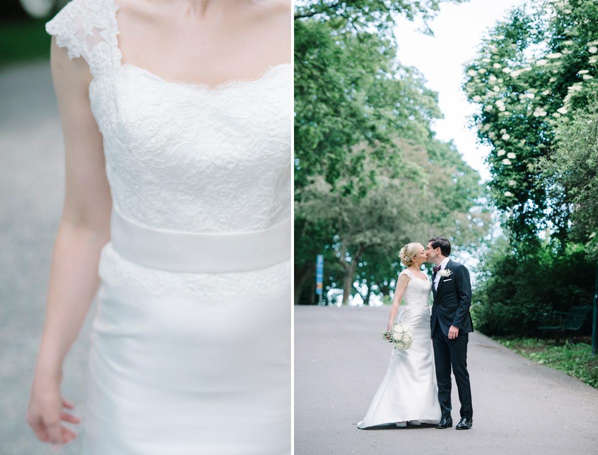 bröllopsklänning spets