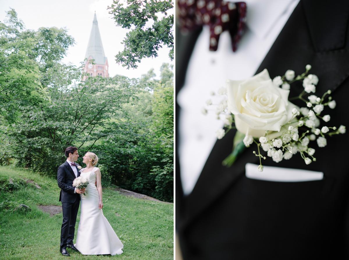 vitabergsparken bröllopsbilder