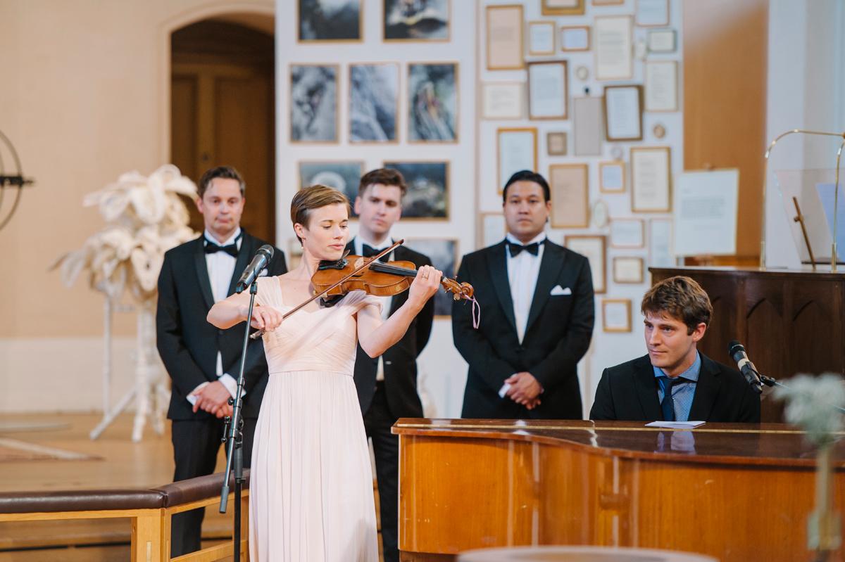 bröllop fiol musik