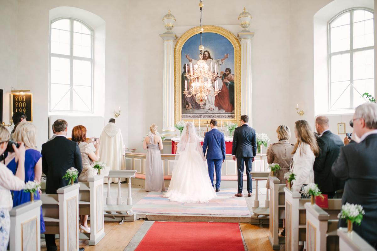 kyrkvigsel bröllopsfotograf