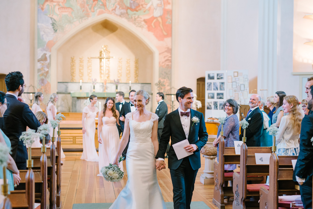 bröllop utgång vigsel