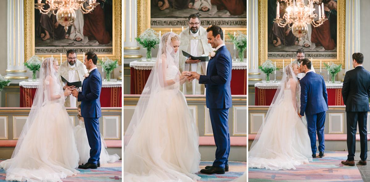 wedding ceremony sweden