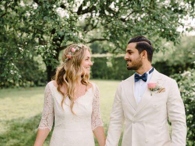 Bohemiskt bröllop på Rosendals Trädgård