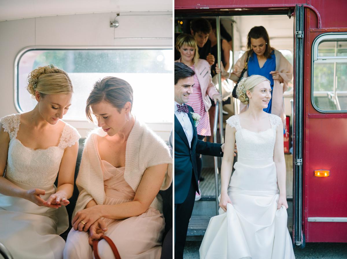gammal buss bröllop