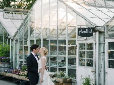 Bröllop på Rosendals trädgård ~ Ebba och Benjamin