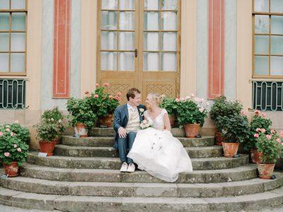 Romantiskt bröllop på Riddersvik