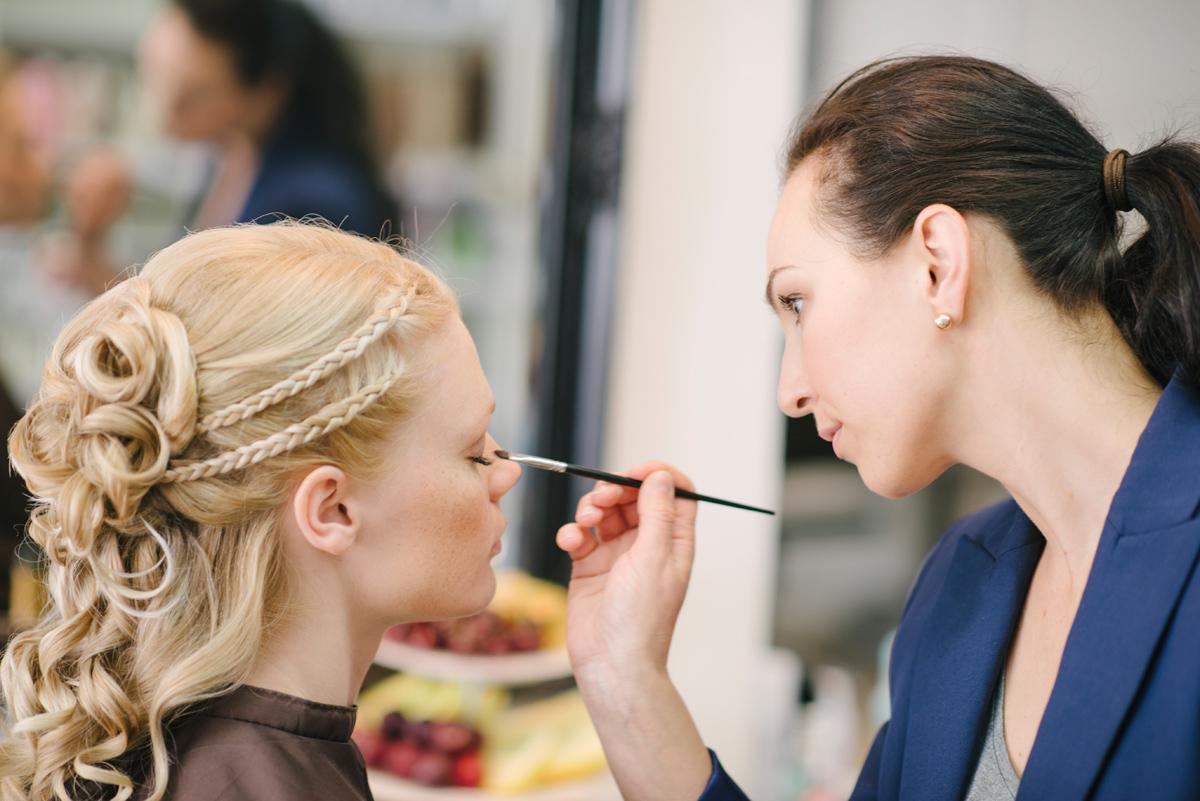 make up bröllop