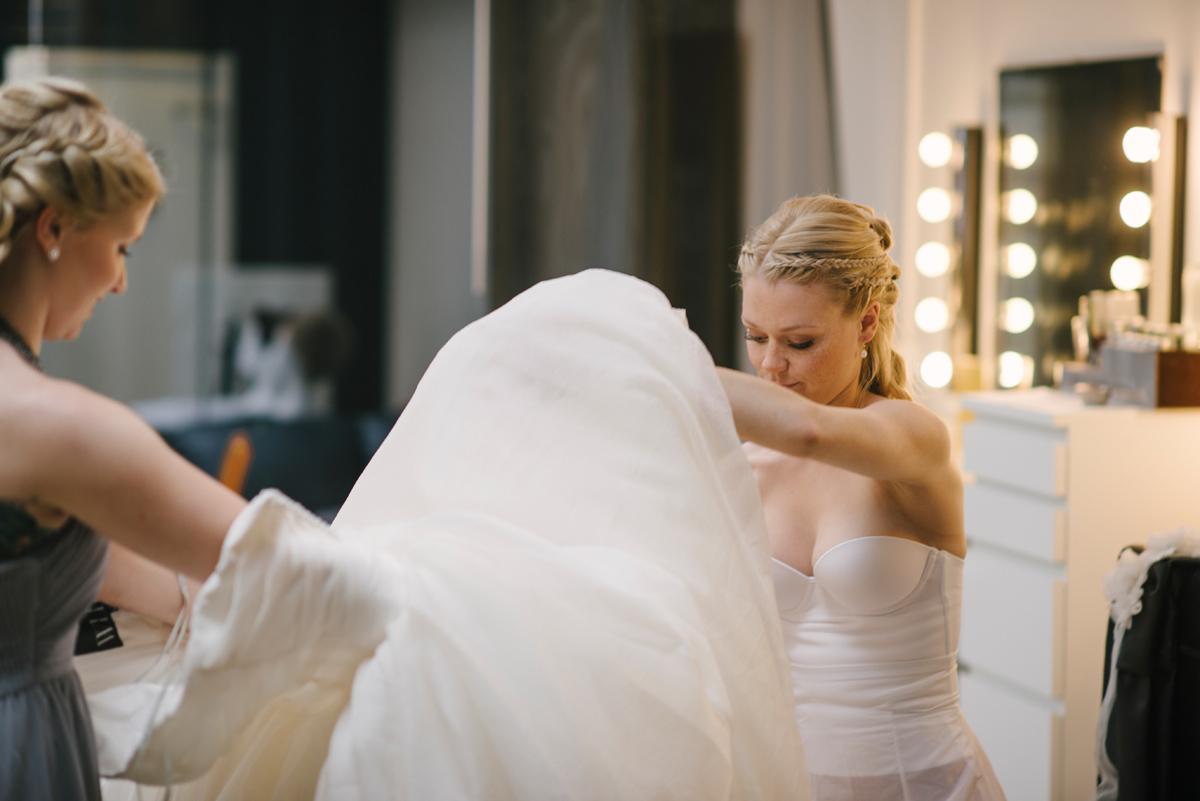 bröllopsförberedelser