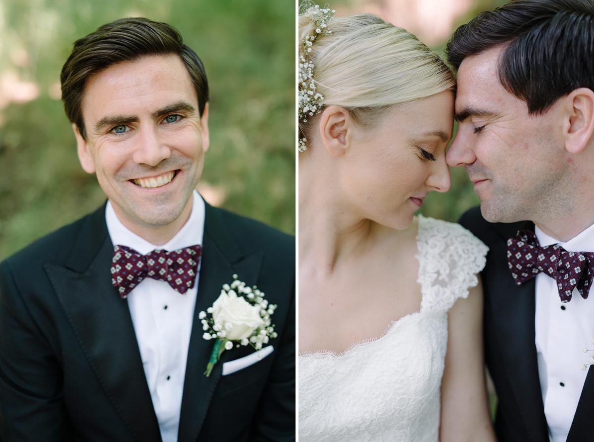 bröllopsbilder porträtt