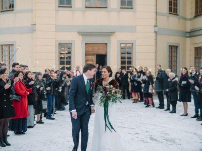 Vinterbröllop på Drottningholm