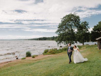 Svensk-tyskt bröllop i Rättvik