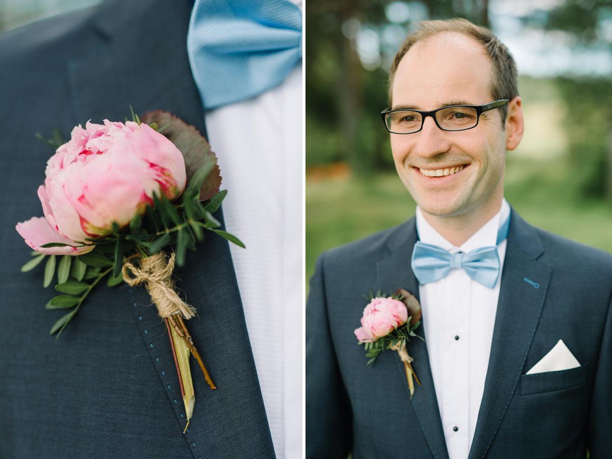 bröllop corsage