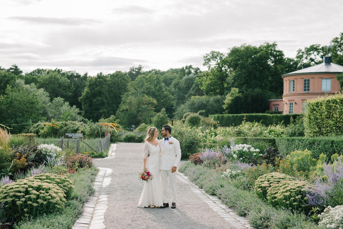 wedding rosendals trädgård