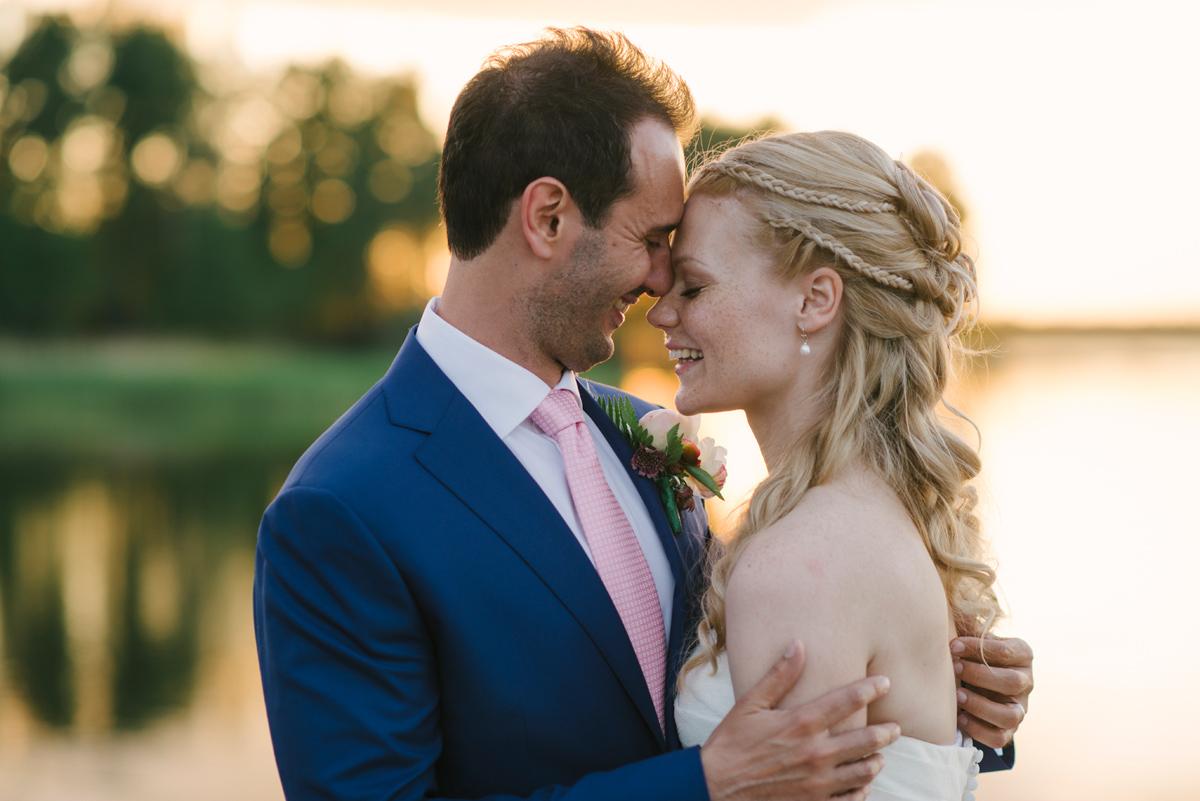 naturliga bröllopsfoton