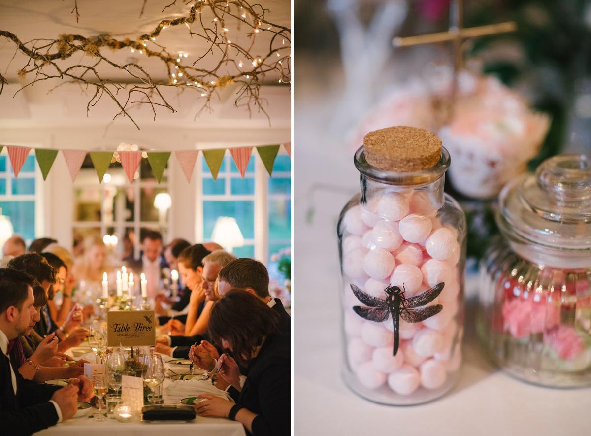 bröllop dekorationer detaljer