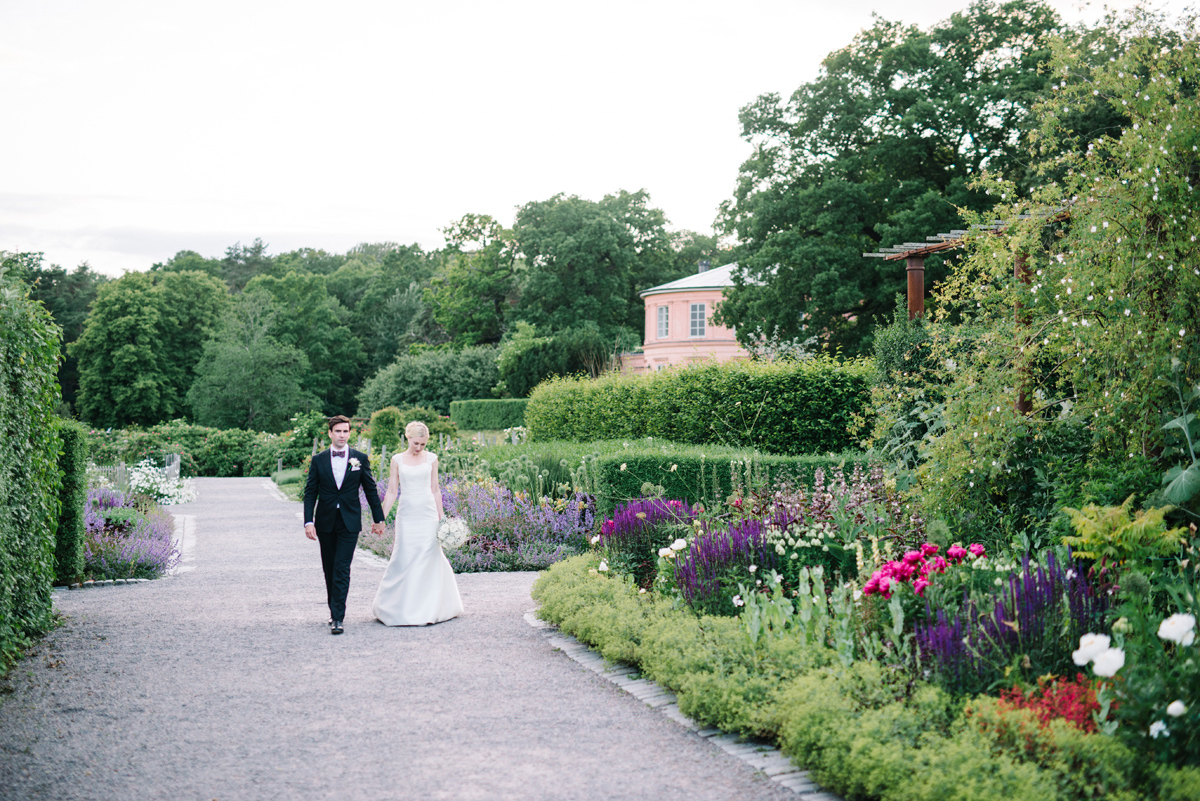 trädgårdsbröllop stockholm