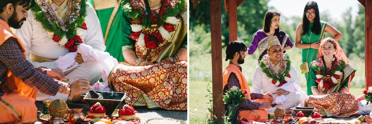 indiskt bröllop