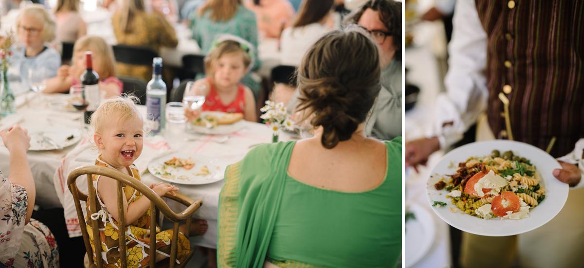 bröllop buffé