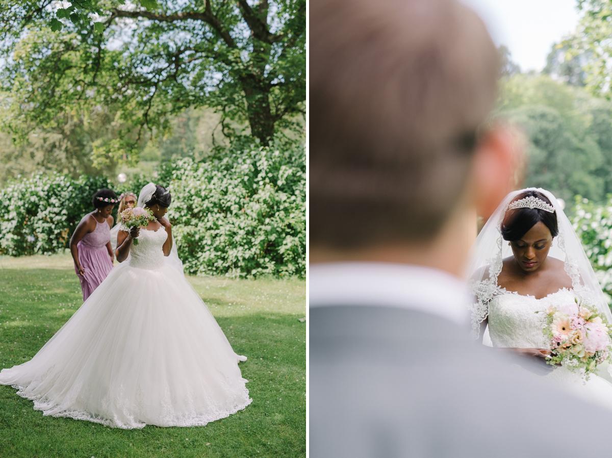 first look bröllop
