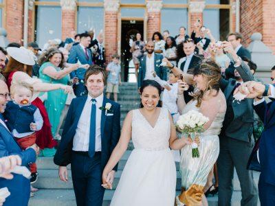 Bröllop i Skridskopaviljongen