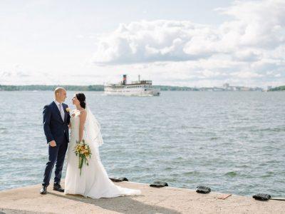 Klassiskt bröllop på Ekensdal
