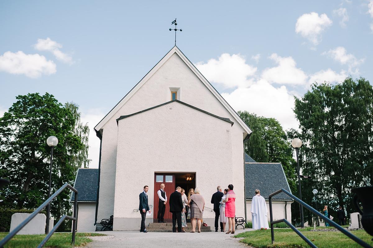 Bröllop Almby kyrka