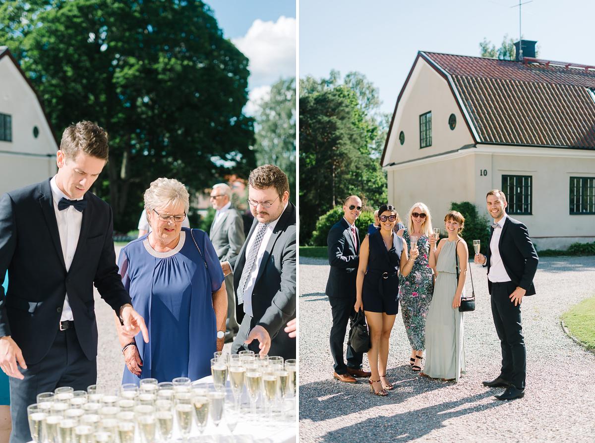 bröllop Karlslunds herrgård