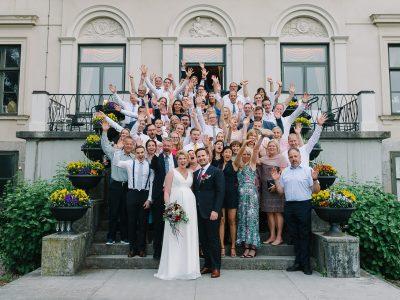 Bröllop på Karlslunds herrgård