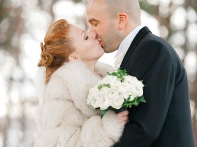Vinterbröllop på Lidingö